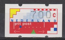 AU30 automaatzegel 30 MNH telnummer NVPH Nederland automaatstrook 700 ct