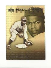 2001 UPPER DECK HALL OF FAME GALLERY JACKIE ROBINSON #G4 BROOKLYN DODGERS
