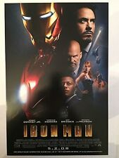 IRON MAN movie poster print  : ROBERT DOWNEY JR poster : 11 x 17 inches : (2008)