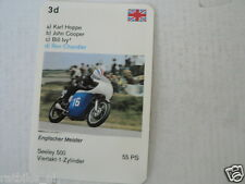 60-MOTO GP GRAND PRIX MACHINES 3D RON CHANDLER SEELEY 500    CARD