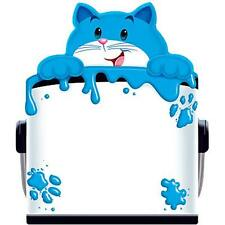 Children's Curious Colour Cat  Fun shaped Note Pad for Kids