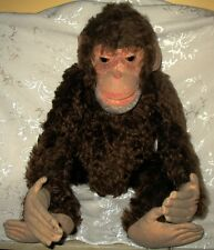 "Steiff - Ext. RARE Antique 1930's ""Jocko"" the Monkey with OLD Steel Button"