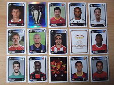 Panini Champions League 10/11 - 2010 - 2011 -  30  Sticker  aussuchen NEU