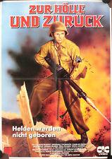 Zur Hölle und zurück Filmposter A2 Videoplakat To Hell and Back Audie Murphy