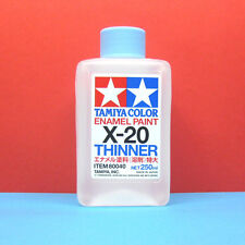 Tamiya #80040 Tamiya Color Enamel Paint X-20 Enamel Thinner (250ml)