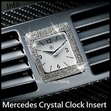 Swarovski Crystal Dash Clock Frame Trim Bezel Sticker Mercedes Benz W212 W218