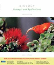 Biology Concepts and Applications by Cecie Starr 2005 Paperback NEW
