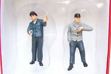 Preiser 1:32 scale Railroad Engineer & Fireman in Cab # 2 : TWO Figures 63102