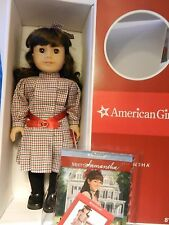 """American Girl SAMANTHA PreBeforever in Classic Meet Outfit * NIB 18"""" Doll + Book"""