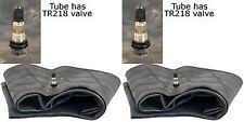 TWO 9.5-36 9.5X36 Farm Tractor Tire  Inner Tubes TR218A Valve HEAVY DUTY