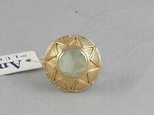 Amrapali for Lucky Brand Goldtone Semi-Precious Stone Starburst Ring 7 JLRY0500
