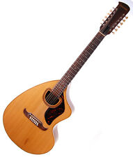 Vintage Giannini Craviola AWS12 Brazilian Rosewood 12 String Acoustic