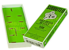 NEW REPRODUCTION SUBBUTEO TABLE FOOTBALL TEAM BOXES. MID 70's DESIGN BOX.