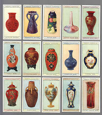 CIGARETTE CARDS.Ogdens.MODERN BRITISH POTTERY.(1925)Set
