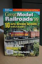 Great Model Railroads 1999 Annual Edition 98 Pages From Model Railroader Mag