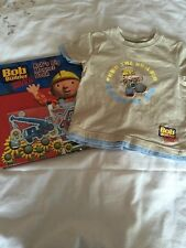 Bob the Builder Magnet Book And Tshirt Age 18M-24M 1 1/2 - 2 Year