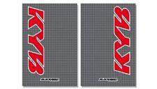 Gabelschutzfolie Gabelaufkleber Carbon Fiber Kayaba Suzuki RM RMZ 125 250 450