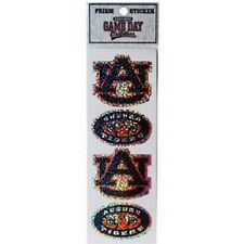 Auburn Tigers 4 Count Prism Sickers - NCAA Decals Prismatic Bling Pack