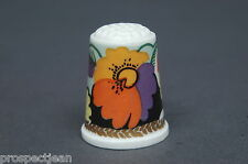 TCC Albany Floral China Thimble B/69