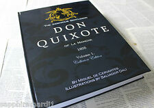 Don Quixote Book with x12 beautiful works by Salvador Dali