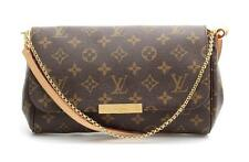 Louis Vuitton Brown Monogram Coated Canvas Favorite MM Convertible Bag