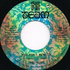 THE BEEDS you don't have to/run to her U.S. TEAM 45rpm TM-519_ garage pop 1968