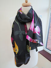 Ted Baker Catori Citrus Bloom 100% Silk Long Scarf - BEAUTIFUL!!