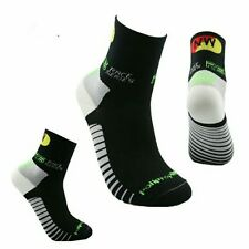 cycling socks mens/womens size 6-12  black , ideal for spring , coolmax bnwt .
