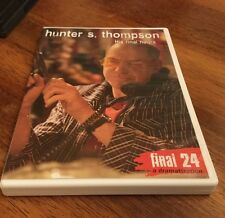 Hunter S. Thompson: Final 24 - His Final Hours (DVD, 2010)