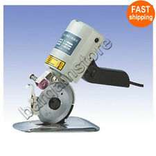 90mm Cloth Cutter Fabric Cutting Machine Shear Rotary Electric Scissors & 220V