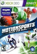 Motionsports XBOX 360 KINECT NEW! FOOTBALL, HORSE RIDING, BOXING SOCCER, FAMILY