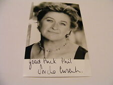 SORCHA CUSACK Signed Photo Autograph TV Stage Actress Casualty Father Brown