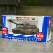 SIKU DIECAST METAL MILITARY MODEL TOYS 1867 1/87 PANZER TANK REPLICA