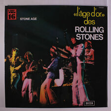 ROLLING STONES: Stone Age (l'age D'or 16) LP (France, laminated gatefold cover)