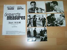 DESPERATE MEASURES - Presseheft ´97 + 5 PF - ANDY GARCIA Michael Keaton