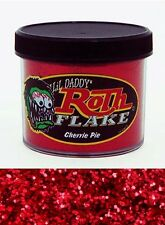 Lil Daddy Roth Metal Flake Cherrie Pie Red 2oz Jar Hot Rod Custom