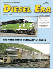 Diesel Era V19 N4 Burlington Northern GP39E Missouri Pacific Katy Louisville L&N