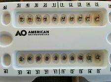 AMERICAN ORTHODONTIC M POWER BRACKETS  SELF LAGATING