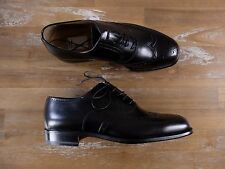 auth MORESCHI black wingtips leather shoes -Size 7 US / 6 UK / 40 EU -New in Box
