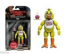 "New Authentic Five Nights At Freddy's Chica 5"" Figure IN STOCK BAF Spring Trap"