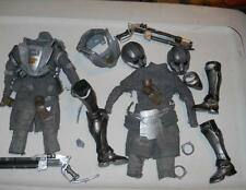 1/6 Scale  Space Marine Armor and equipment LOT with Blaster Rifle loose