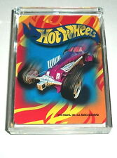 Hot Wheels Red Acrylic Executive Desk Top Paperweight