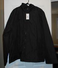 JOSEPH ABBOUD COLLECTION Men's NWT Black Jacket Coat Rain 2XL XXL ethankeith1