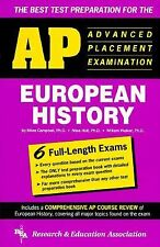 AP European History (REA) - The Best Test Prep for the Advanced Placement Exam (