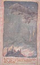 A2891) WW1 FRANCHIGIA DI MAZZONI, BOMBARDAMENTO AUSTRIACO A PADOVA.