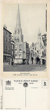 1920's MARKET CROSS & SPIRE CHICHESTER SUSSEX UNUSED TUCKS POSTCARD