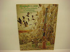 Vintage 1973 Remington Company Sporting Firearms Ammo Catalog Rifles 47 pages