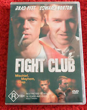 DVD   Fight Club / Brad Pitt, Edward Norton/ (R) 18 +/ Reg 4