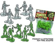Spherewerx Zombies at War Army Men Bag [contains 35 figures] (OCT132368) AOI