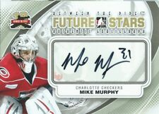 (HCW) 2011-12 ITG Between the Pipes Future Stars MIKE MURPHY Autograph 00471